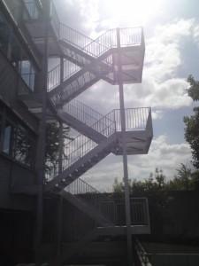 Schody konstrukcja stalowa