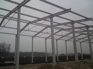 Gotowa konstrukcja stalowa